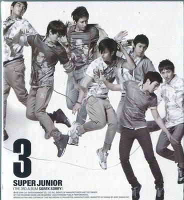 【嘟嘟音樂坊】Super Junior - SORRY SORRY C版