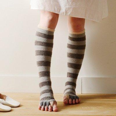 尼德斯Nydus~* 日本進口 療癒系 抗寒專區 美腿襪 彈性襪 保濕 保暖 舒壓 腳趾分開設計 -3色