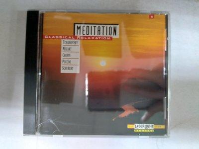 昀嫣音樂(CD74)  MEDITATION CLASSICAL RELAXATION VOL.6 美國壓片 保存如圖