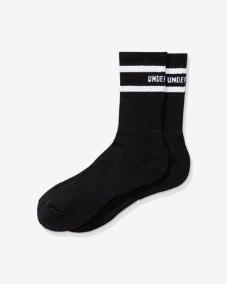 【日貨代購CITY】2020SS UNDEFEATED LOGO CREW SOCK 條紋 中筒襪 現貨