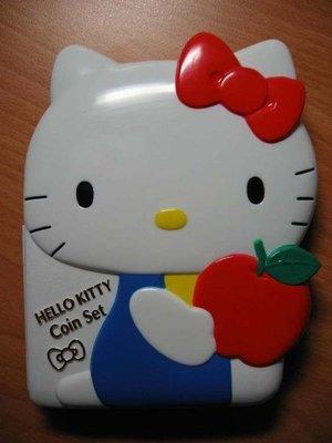 全新 日本 2004年 Hello Kitty 凱蒂貓 30 週年 紀念套幣