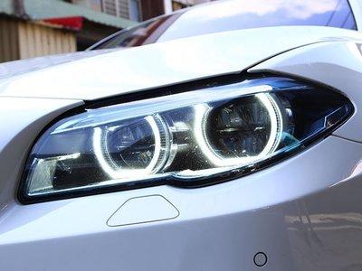 《※台灣之光※》全新BMW F10 F11 14 15 16 17年全車系改M5樣式全LED光圈黑底頭燈大燈組