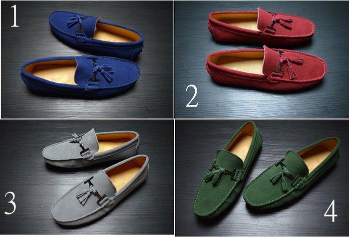 【FashionKiosk】Tod's 同款男款多色豆豆懶人鞋01