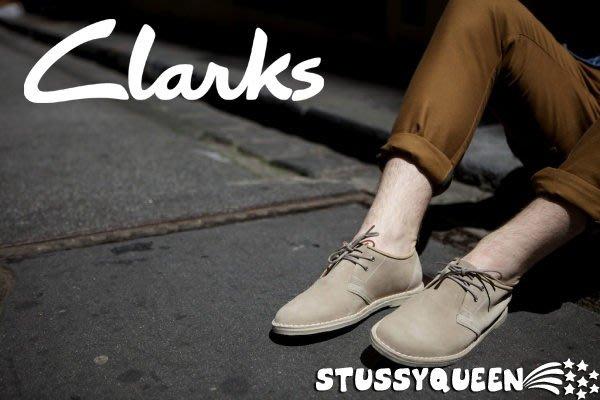 【現貨】全新正品 英國經典 Clarks Originals Jink Oxford 袋鼠 英倫低筒靴 麂皮 米駝 深藍 7.5~10.5