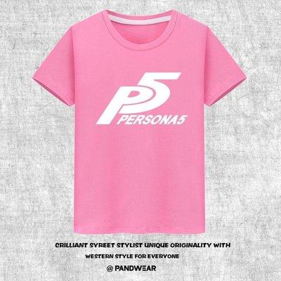 【優質材質】PS4游戲女神異聞錄5 TAKE YOUR HEART T恤全棉短袖夏裝