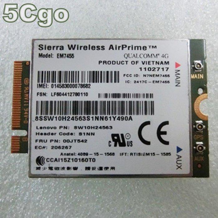 5Cgo【代購】gobi6000 EM7455 X260 X1 T460 LTE 4G WWAN ThinkPad 含稅