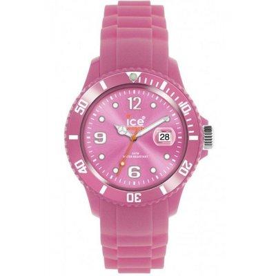 [永達利鐘錶 ] ICE watch 粉色膠帶日期錶 SS.VT.U.S.11 原廠公司保固24個月 38mm