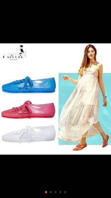 《生活晶選》F-TROUPE 美鞋 涼鞋 包鞋 果凍鞋 透明 海灘鞋 顏色尺寸齊全 《台北可面交》