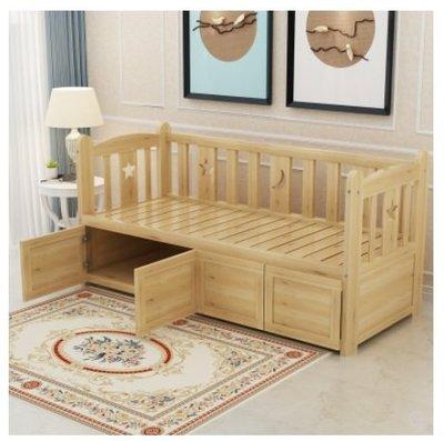 梳化 sofa 梳化床 雙人床 實木床 松木床 租房 劏房 公屋 居屋 私樓 可訂造 190904tr0910