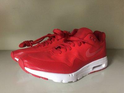 Nike Air Max 1 Ultra Moire Ch 紅白 3M 輕量 運動休閒鞋 off Jordan