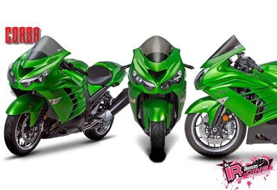 ♚賽車手的試衣間♚ Zero Gravity® Kawasaki ZX-14 R 06-19 CORSA款 風鏡