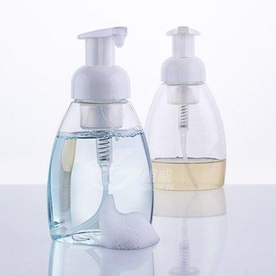慕斯瓶 300ML大容量 電視節目推薦 起泡瓶 打泡瓶 發泡瓶 分裝瓶 透明色