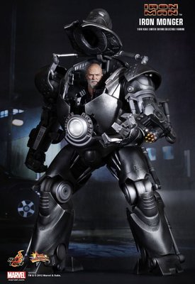 留意內容 Hot Toys Marvel Iron Man Iron Monger 中古二手 缺件