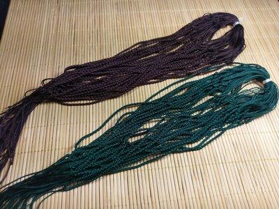 518中國結綁繩.扣頭專賣--中國結綁繩--N20   翡翠玉墜 掛件綁繩 兒童綁繩 (咖啡色,墨綠色) 買10送1