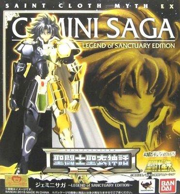 日本正版 萬代 聖鬥士聖衣神話EX 雙子座 撒卡 LEGEND OF SANCTUARY 公仔 模型 日本代購
