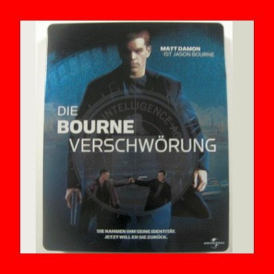【BD藍光】神鬼認證 2 神鬼疑雲:環球一百周年限定鐵盒版(台灣繁中字幕)The Bourne Supremacy