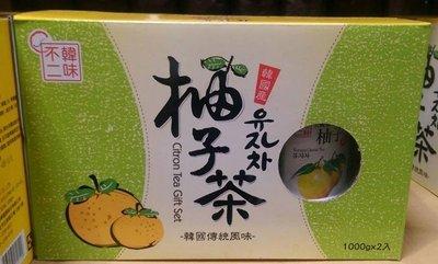 【代購屋】Costco 好市多 代購 HAN WHA 韓味不二 水果茶飲禮盒 (1000g*2罐)
