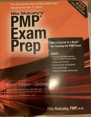 Rita Mulcahy's PMP Exam Prep Eighth Edition