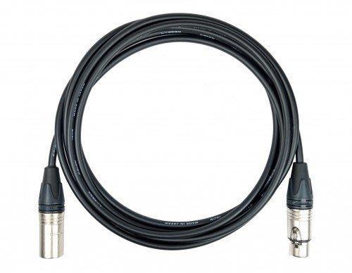 【六絃樂器】全新日本 Canare L-4E6S +Neutrik XLR 麥克風線5米 / 舞台音響設備 專業PA器材