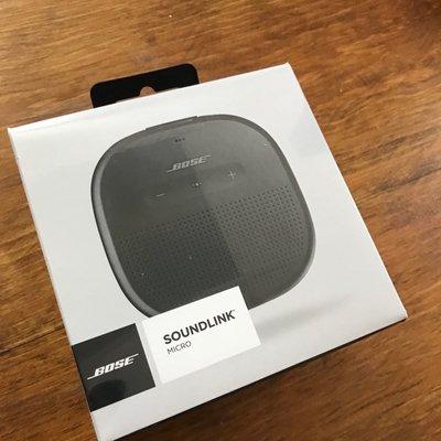 Bose SoundLink Micro 藍牙揚聲器 藍牙 喇叭 音響