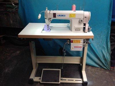 工業縫紉機 (日本制 JUKI 縮小板85×43) 不站空間 適合學生家庭用+無聲節能馬達,速度可自調快慢,附說明書