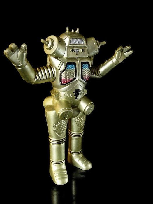 D-17 櫃 現狀品 : BANDAI 1994 CHINA 超人力霸王 喬王 KING JOE  天富玩具店
