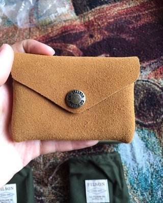 Filson 70445 卡包 card holder horween皮革 全新