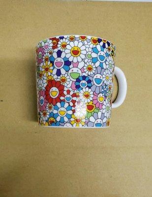 Kaikai Kiki 村上隆 陶瓷 杯子 馬克杯 Mug 小花 彩花 真品 Takashi Murakami 彩色