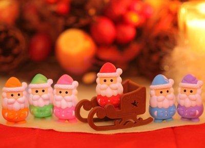 【日本製】原裝進口 IWAKO造型橡皮擦-聖誕節   聖誕老人系列 ER-SAN001