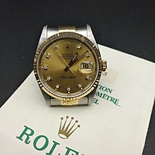 Sw448-10 Rolex 16233G X serial with cert 85%new