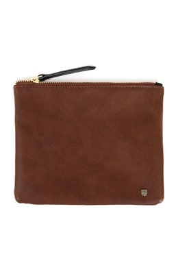 全新 Brixton jill clutch bag brown 深棕 現貨 手拿包