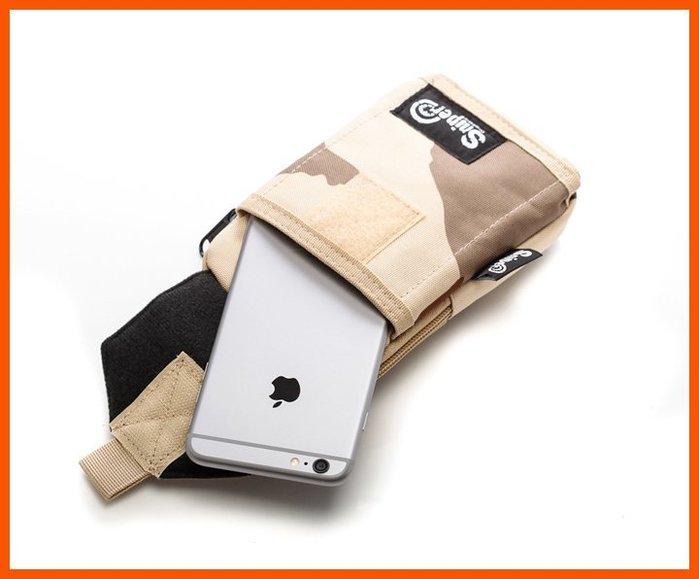 美國Sniper 狙擊者 可斜背大面板手機吊包 可放5.5 5.2吋 防水防震 可放中短夾 護照 最好用的隨身包!獨賣