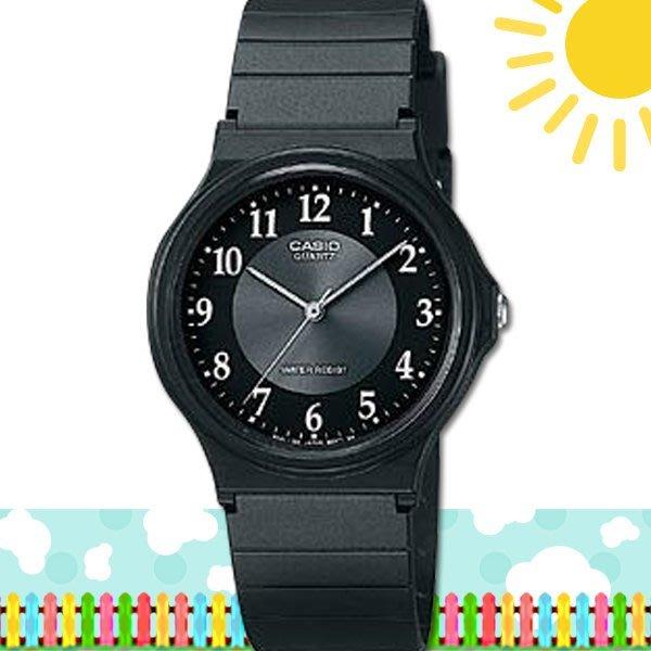 【促銷款】CASIO 時計屋 卡西歐手錶 MQ-24-1B3 學生錶 中性錶 指針錶 膠質錶帶(另有MW-59)