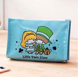 Little Twin Stars SANRIO 三麗鷗 雙星仙子 Hello Kitty Melod 化妝包 小包包