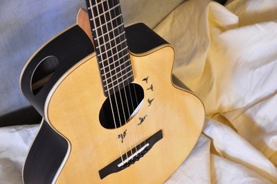 ♪ Your Music 愉耳樂器 ♪L.Luthier -Forest S 民謠吉他
