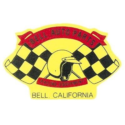 (I LOVE樂多)美國進口貼紙BELL 賽車部品貼紙 HOT ROD 美式風格