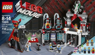 (N)The LEGO Movie 70809 Lord Business' Evil Lair