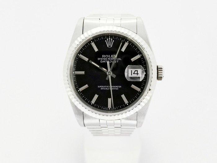 (賀成交) 勞力士 16234 36 mm 黑色面盤 自動機械腕錶