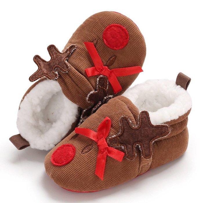 現貨 嬰幼鞋麋鹿寶寶鞋軟底學步鞋