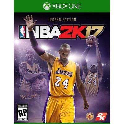 NBA 2K17 XBOX ONE 傳奇珍藏版 亞洲中文版