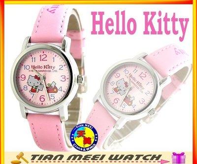 【全新原廠公司貨】【天美鐘錶店家直營】【下殺↘超低價有保固】日本Hello Kitty錶-LK570L粉紅