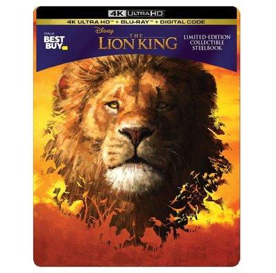 迷俱樂部|現貨!獅子王 [藍光BD] 4K UHD+BD 雙碟鐵盒版 美版 The Lion King 迪士尼 真獅版