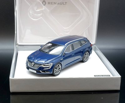 【MASH】現貨瘋狂價 Norev 1/43 Renault Talisman Estate 2016 blue