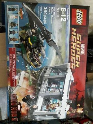 Lego 76007 iron man 最後一盒