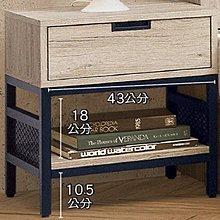 8號店鋪 森寶藝品傢俱 C-10品味生活 臥室 床頭櫃 系列101-7 倫恩床頭櫃