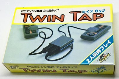 PC Engine 轉用配件 Twin tap 雙人 搖桿手把 擴充連接埠