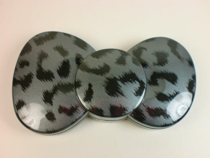 東京家族 Kitty豹紋隨身鏡/化妝鏡