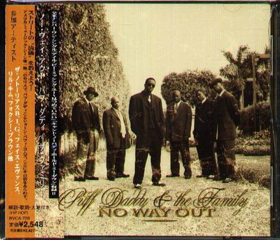 K - Puff Daddy - No Way Out - 日版