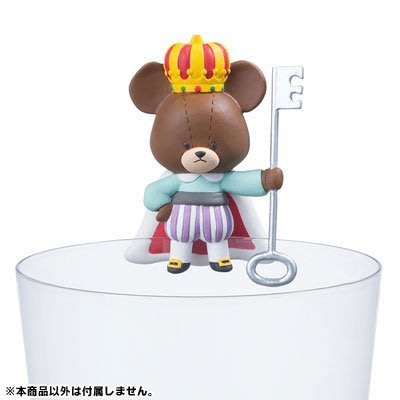【QQ公仔物語】【NA117】【現貨】Putitto 小熊學校 杯緣子 日版 單賣 Jackie的寶貝款 滿千免運