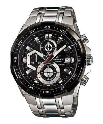 【金台鐘錶】CASIO 卡西歐 防水100米 獨立日期顯示窗格 三眼計時碼表  EFR-539D-1A
